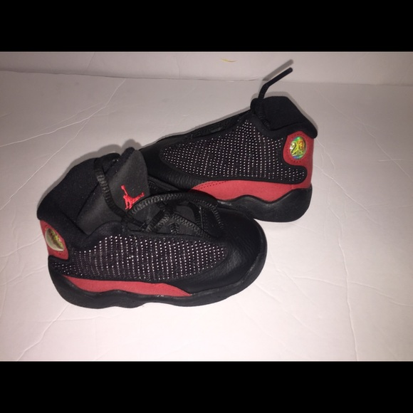 new style 329ad d0d45 ... Nike Air Jordans Retro 13 Black Red sneakers 6c  cheap ...